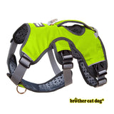 Reflective American bully harness in 7 colors green
