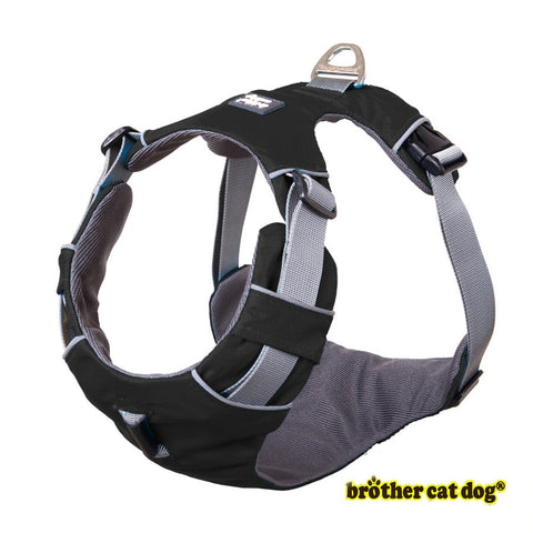 Reflective bully harness in 7 colors black