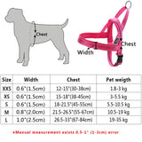 No pull reflective Mastiff harness