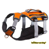 Reflective bully harness in 7 colors orange