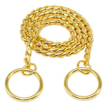 mastiff-dog-snake-collar-gold