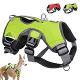 Reflective bully harness in 7 colors for all dog breeds