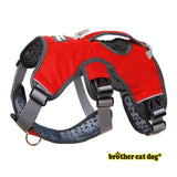 Reflective bully harness in 7 colors red