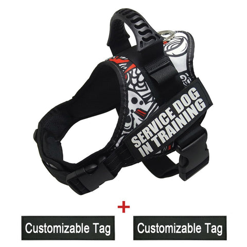 camo mastiff harness