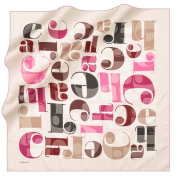 Cacharel Signature Silk Twill Scarf No. 91