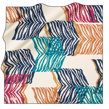 Cacharel Venn Silk Twill Scarf No. 22