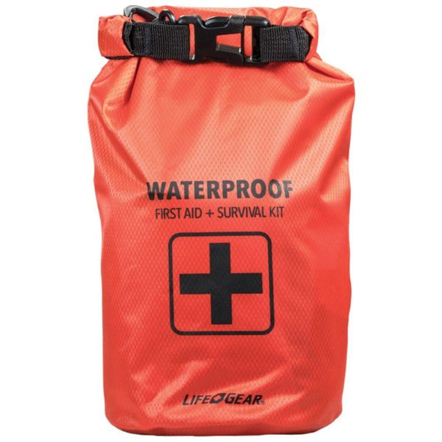 130-Piece Dry Bag First Aid & Survival Kit