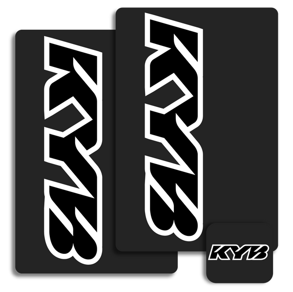 KYB Fork Decals