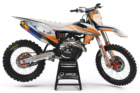 KTM -  Glacier Series Grey-Orange