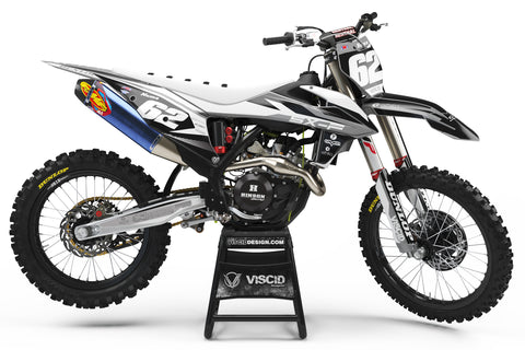 KTM -  Glacier Series Black- White