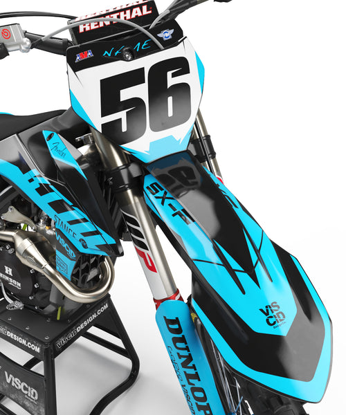 KTM - Smoke Series (Ski Blue)