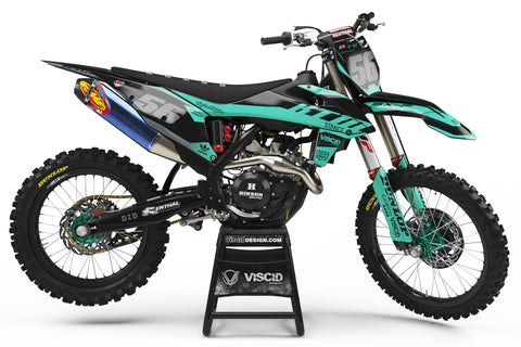 KTM - Smoke Series (TEAL)
