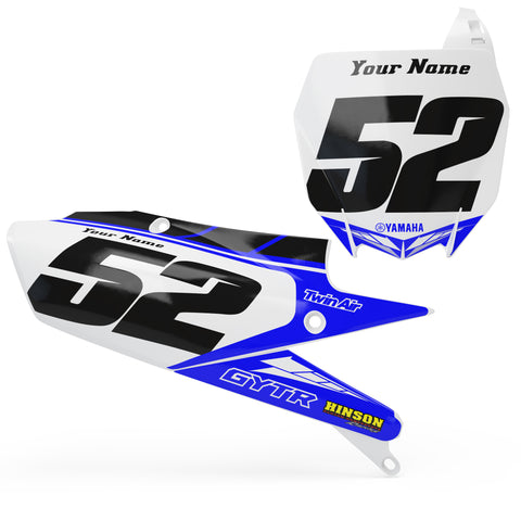Yamaha Number plate set -  Layers Series