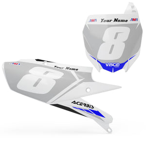 Yamaha Number plate set -  Blizzard Series