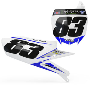 Yamaha Number plate set -  FROST Series