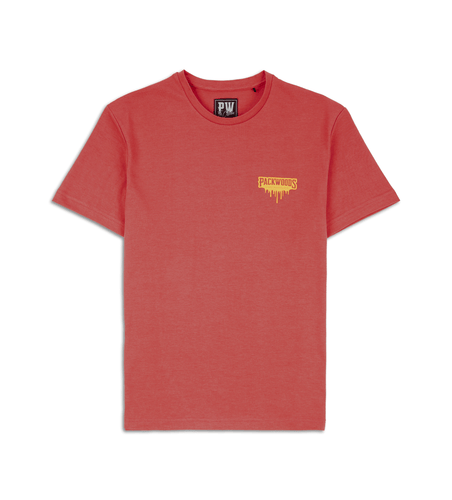 Signature Drip Red Tee