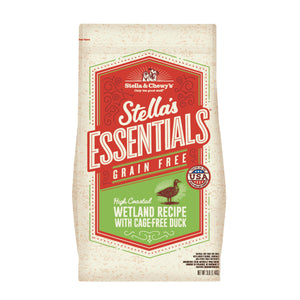 Stella & Chewy's Stella's Essentials Kibble High Coastal Wetland Recipe With Cage-Free Duck Dry Dog Food