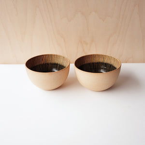 Striped Everyday Bowls (Natural)