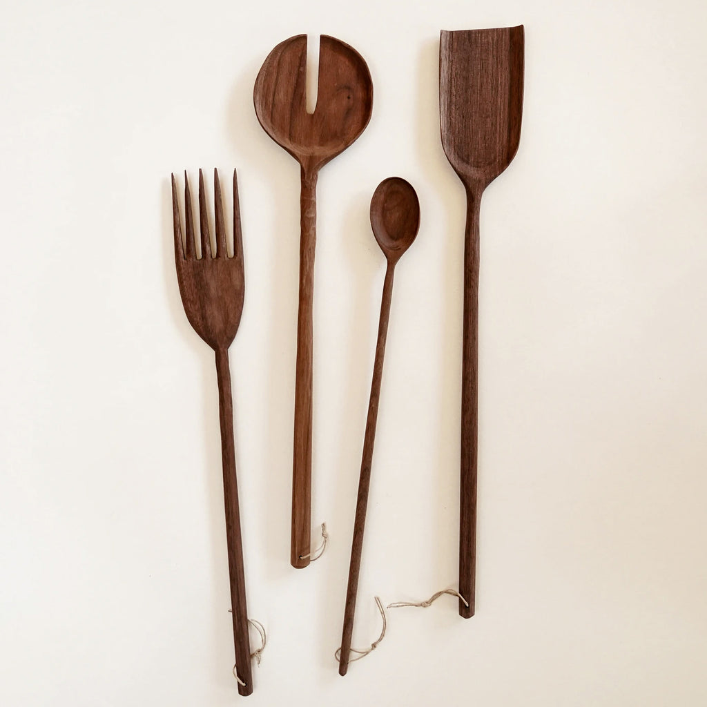 Hand-Carved Wood Utensils