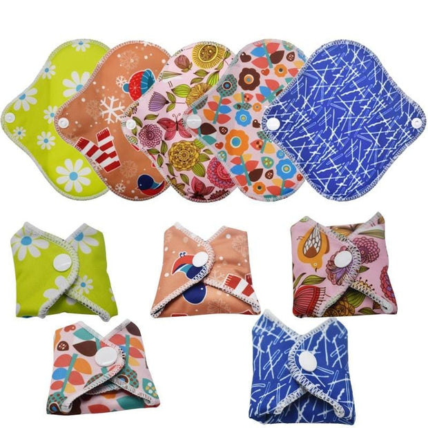 Patterned Panty Liners - 5 Pack Surprise