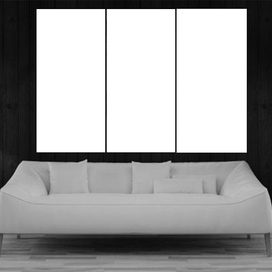 3 Panel Custom Canvas Art - san-diego-art-house