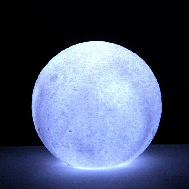 3D Lamp LED Moon Light