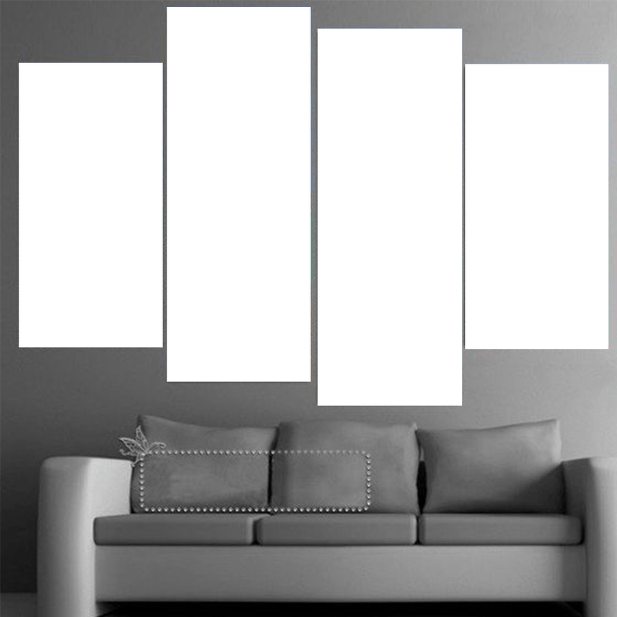 4 Panel Custom Canvas Art