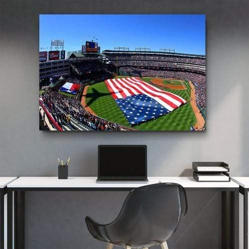 CANVAS ART LAB Ameriquest Field Canvas Set