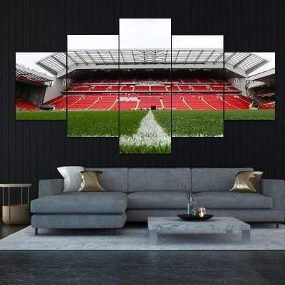 Anfield New Main Stand Canvas Set - San Diego Art House