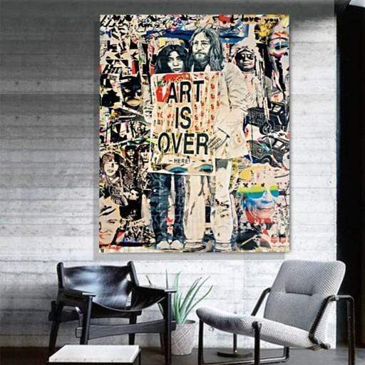 Art is Over Canvas
