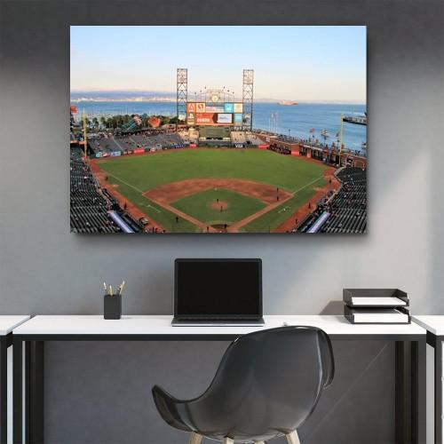 CANVAS ART LAB AT&T Park Canvas Set