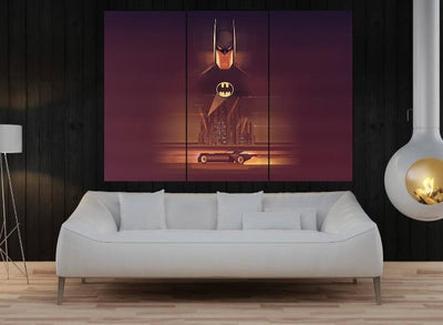 Batman Comic Canvas Set - san-diego-art-house
