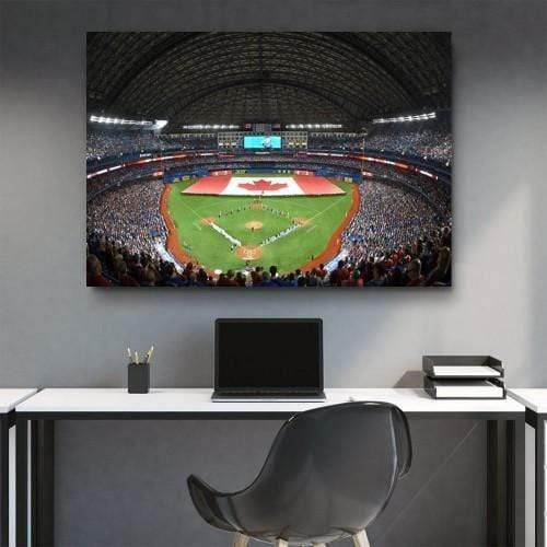 CANVAS ART LAB Blue Jays Park Canvas Set