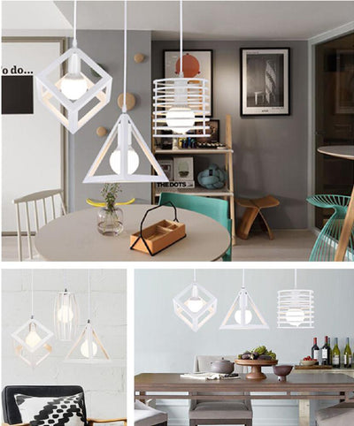 Cage Pendant Light - san-diego-art-house