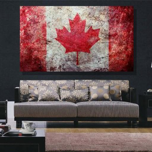 Canada Flag Canvas Set