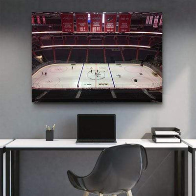 Capital One Arena Ice Canvas Set - San Diego Art House