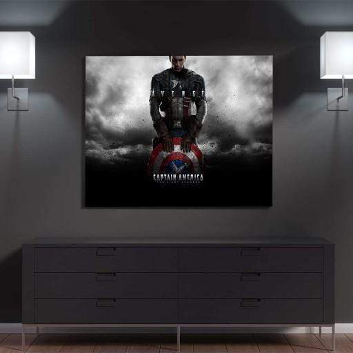 Captain America Canvas Set
