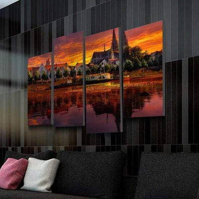 City Horizon Canvas Set - san-diego-art-house