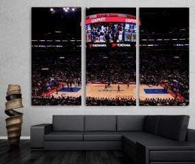 Clippers Arena Canvas Set - san-diego-art-house