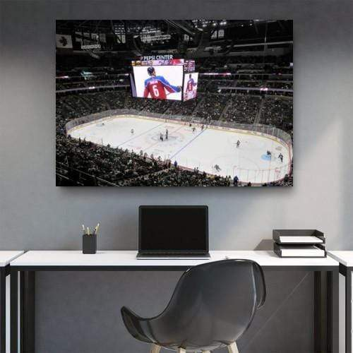 Colorado Avalanche Stadium Canvas Set - san-diego-art-house