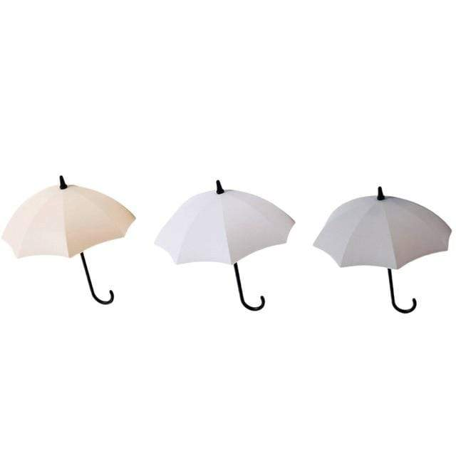 Colorful Umbrella Wall Hook - 3 Pcs