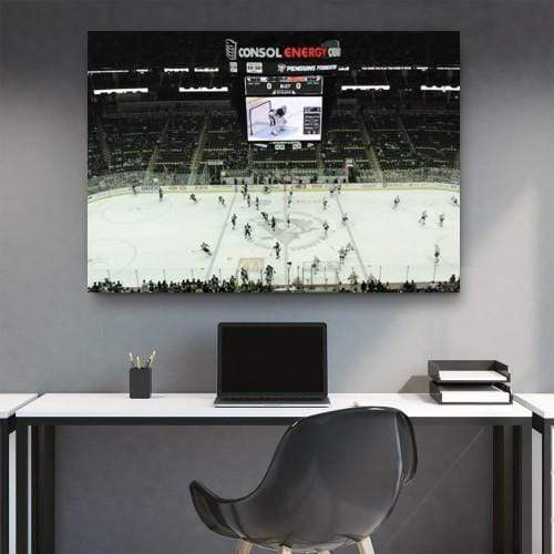 Consol Energy Center Stadium Canvas Set
