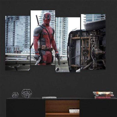 Deadpool 2 Canvas Set - San Diego Art House