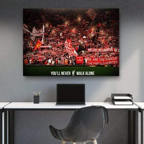 CANVAS ART LAB FC Liverpool Fans Canvas Set