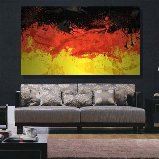 Germany Flag Canvas Set