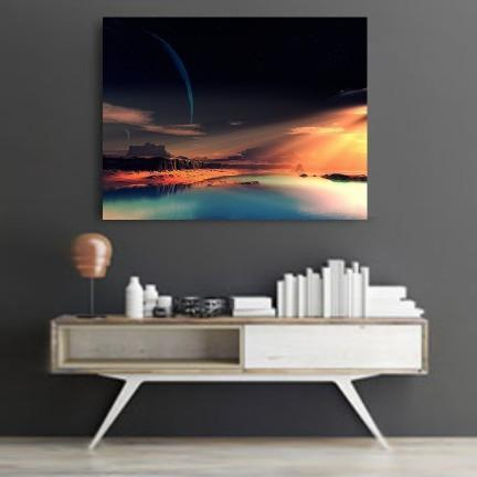 Golden Nature Canvas Set