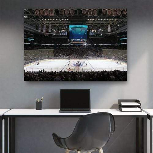 Hockey Stadium Canvas Set - san-diego-art-house
