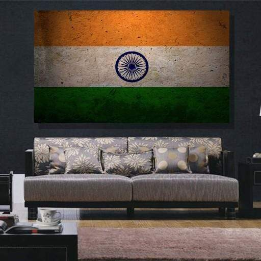Indian Flag Canvas Set