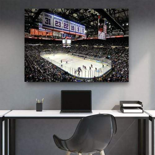 Islanders Last Game At Nassau Coliseum Canvas Set - san-diego-art-house