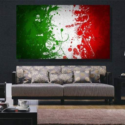 Italy Flag Canvas Set